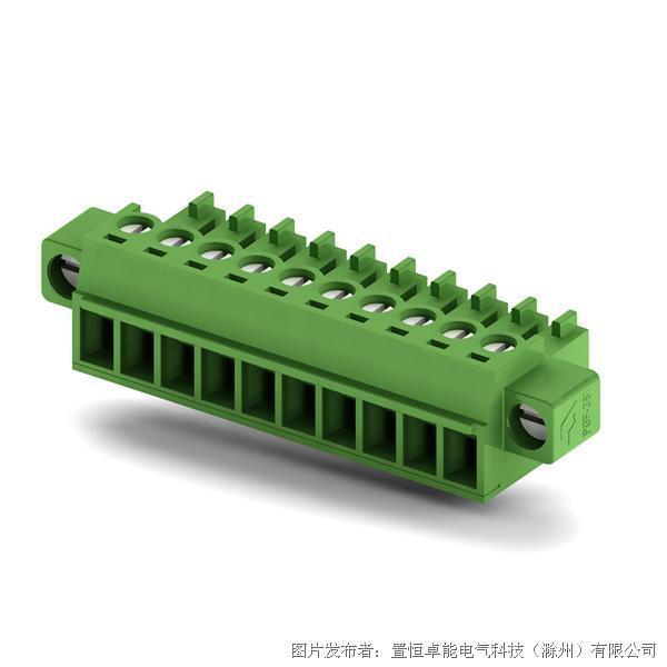 卓能插拔式接线端子PGF-381插头