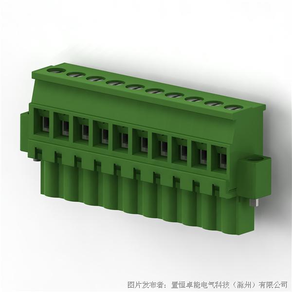 卓能插拔式接线端子PGF-508RL插头