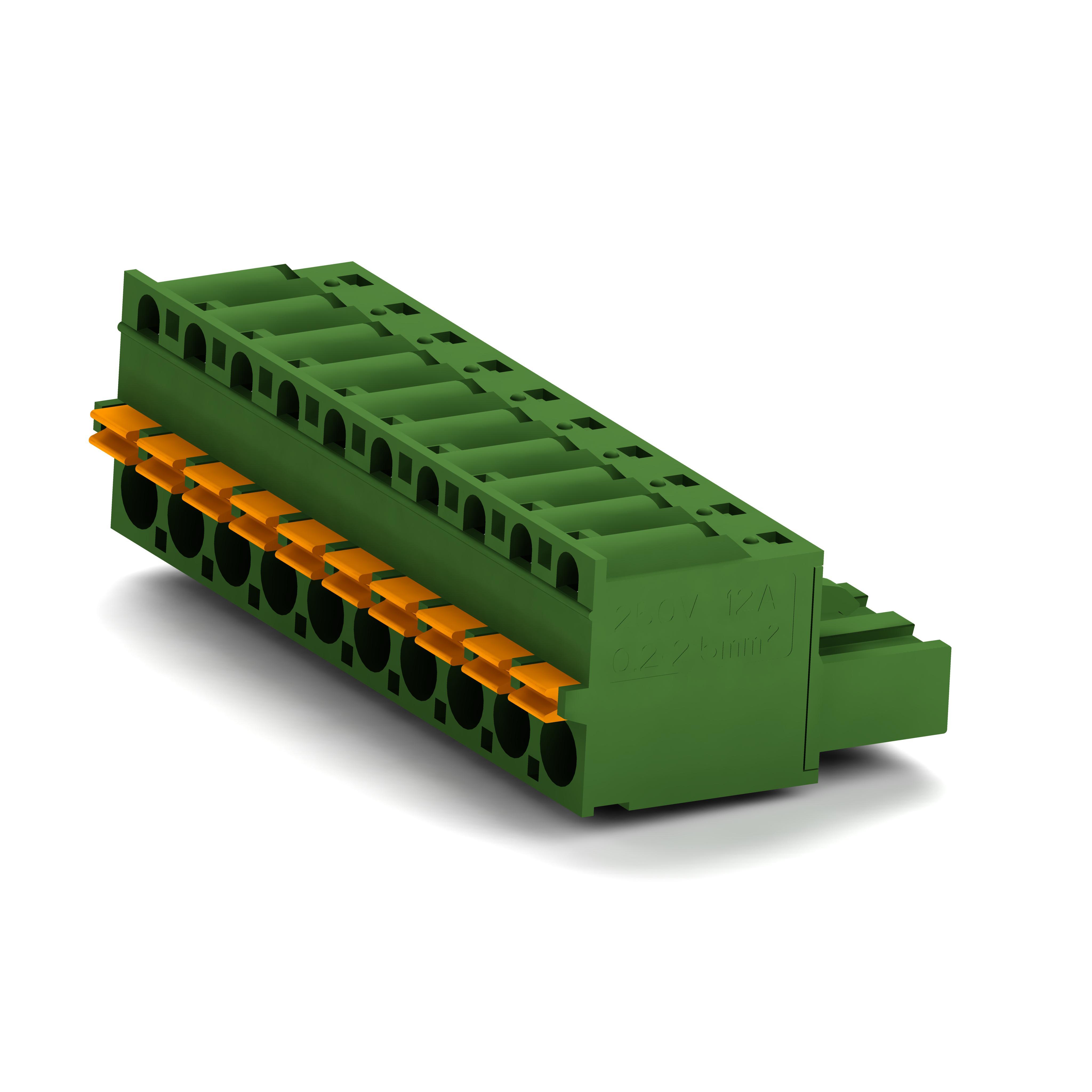 卓能插拔式接线端子KPG-508插头