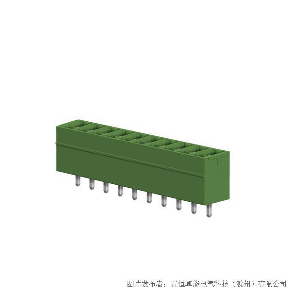卓能插拔式接线端子STC-381V插座