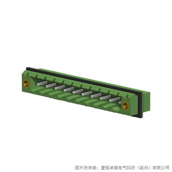 卓能插座插拔式接线端子FDK-STF-508插座