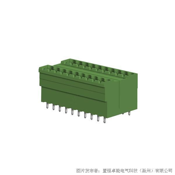 卓能ST1DC-508V插拔式接线端子