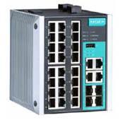 摩莎EDS-528E系列24+4G 口千兆网管型以太网交换机