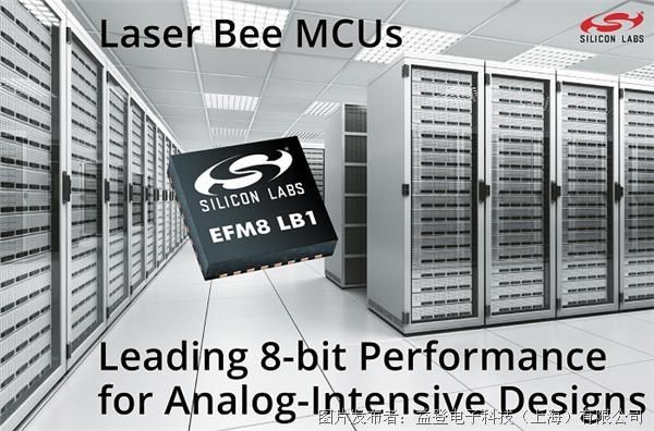 Silicon Labs EFM8 Laser Bee 8 位微控制器 (MCU)
