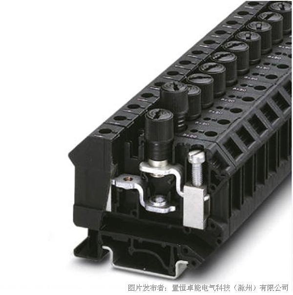 卓能JK10-DREHSI螺帽式保险丝端子