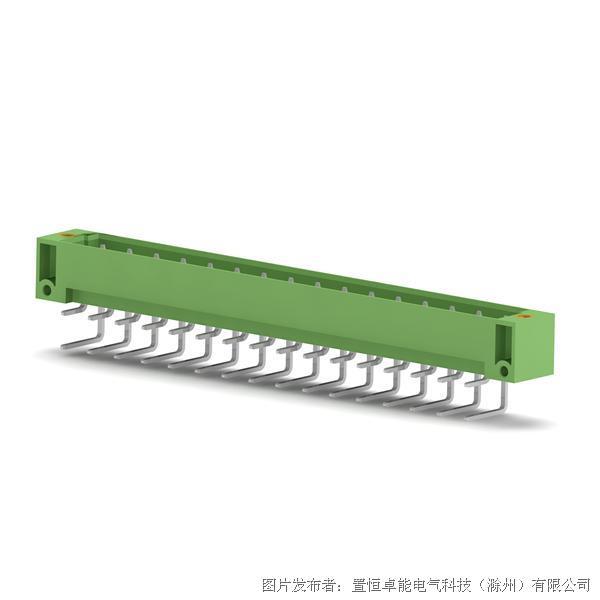 卓能DSTF-635-32P插拔式免螺丝接插件