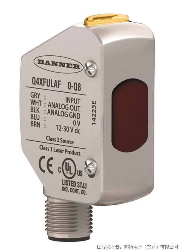 邦纳  Q4X激光测距传感器