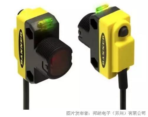 邦纳 集成IO-Link接口的专家型QS18 透明物检测传感器