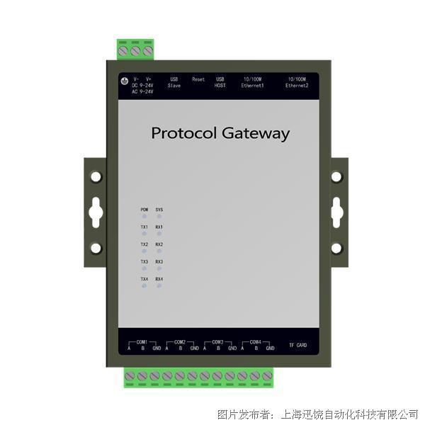 上海迅饶WEB2004-ARM网关