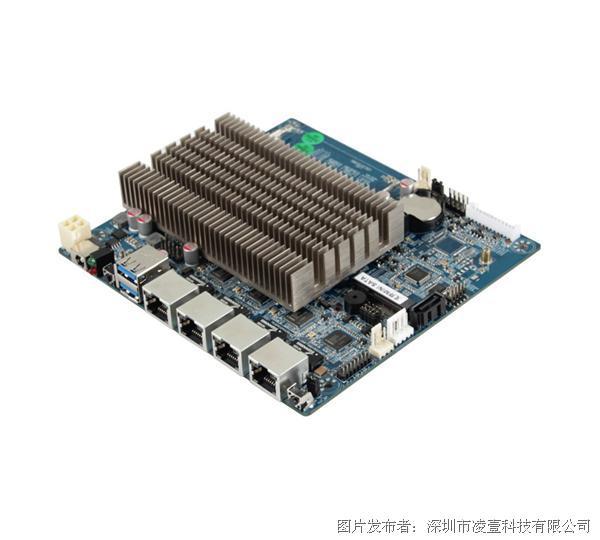 凌壹 Intel J1900 四千兆網絡安全主板