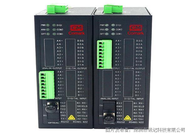 讯记CJ-AF系列多通道电流模拟量光纤转换器