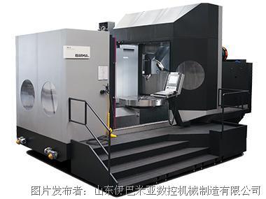 IBARMIA立柱移动式的5轴加工中心-车削功能加工中心