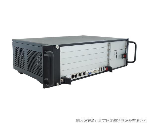 """阿尔泰6槽CPCIe机箱 标准3U高度 支持19""""机柜安装CPCIeC-7606"""