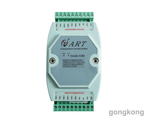 阿尔泰科技DAM-3380 三菱LINK从站协议与主站协议转换模块