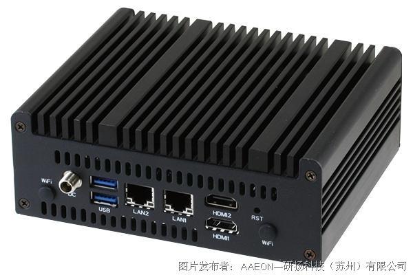 研扬科技 NANO-002N 无风扇迷你计算机