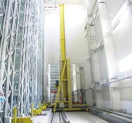 昆船物流換軌堆垛機系統