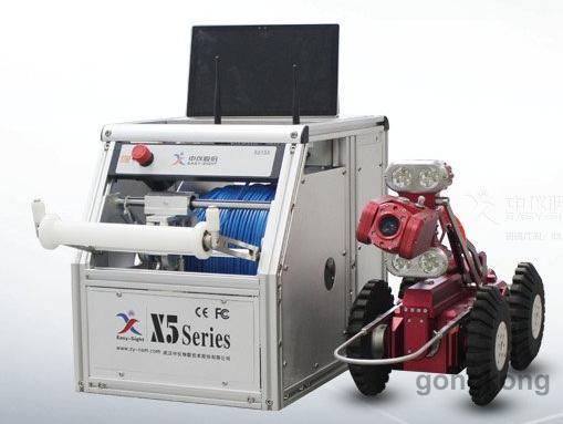 中仪X5-HS管道CCTV检测机器人