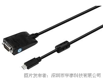UTEK宇泰科技UT-880-TC USB TYPE-C轉RS-232轉換器