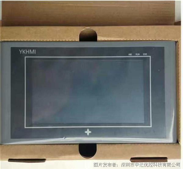 中达优控MM-20MR-6MT-450ES-A 4.3寸触摸屏一体机