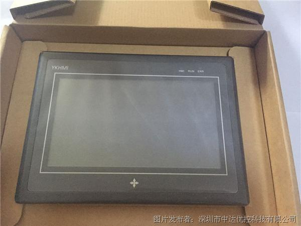 YKHMI中达优控触摸屏 MM-24MR-6MT-450ES-B PLC一体机