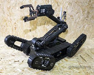 南京聚特小型排爆机器人
