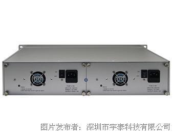 宇泰科技UT-2U16 2U16口光纤收发器机箱