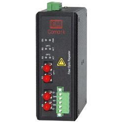 讯记DeviceNet光纤转光纤抗电磁干扰环网冗余光纤转换器