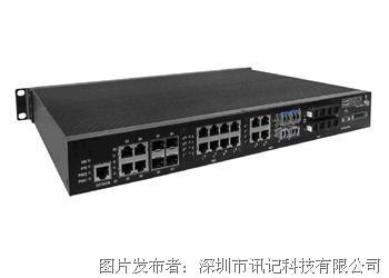 讯记网管型模组化千兆三层高级管理型工业路由以太网交换机