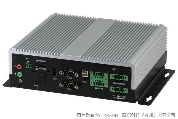 研扬科技 VPC-5600S无风扇车载网络录像机-