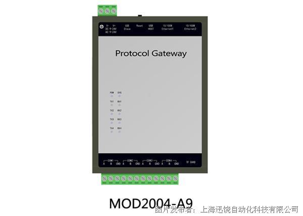 上海迅饶-MOD2004-A9(5000点大容量网关)
