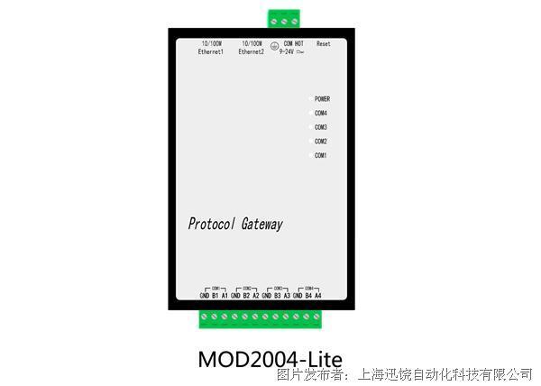 上海迅饒-MOD2004-LITE 1024點經濟型網關