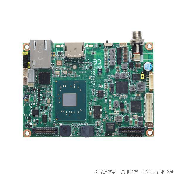 艾讯科技PICO312 Intel® Apollo Lake Pico-ITX嵌入式主机板