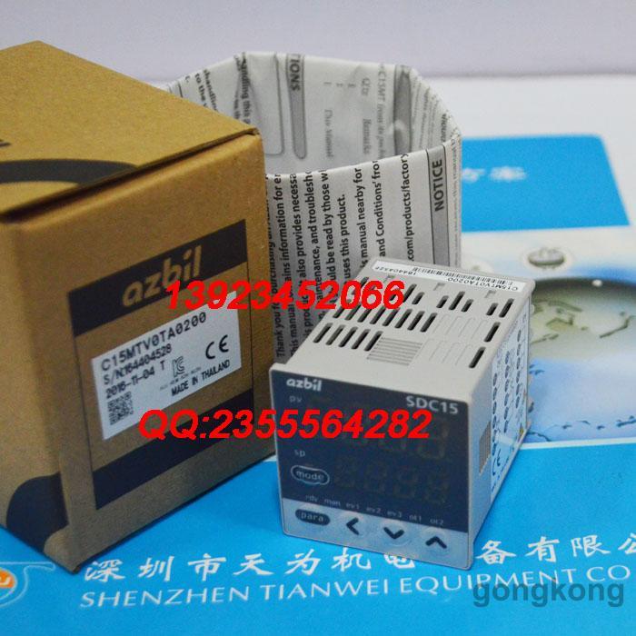 AZBIL C15MTV0TA0200数字显示调节器