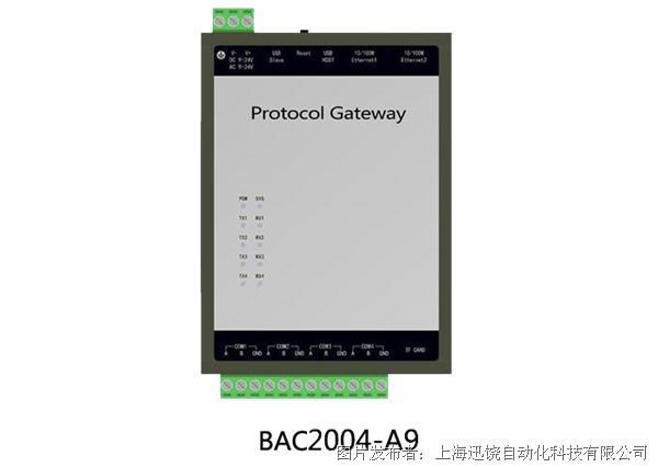 上海迅饒-BAC2004-A9(5000點大容量網關)