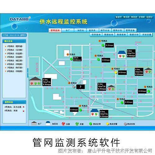 唐山平升 供水管网监测系统、供水管网监控系统