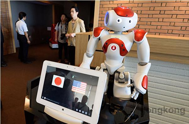 朝元时代NAO机器人