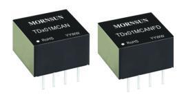 金升阳 TD-MCAN/TD-MCANFD系列超小体积CAN/CANFD隔离收发模块