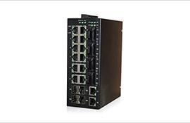 迈森科技MS22M-4G系列千兆网管型导轨式工业级以太网交换机