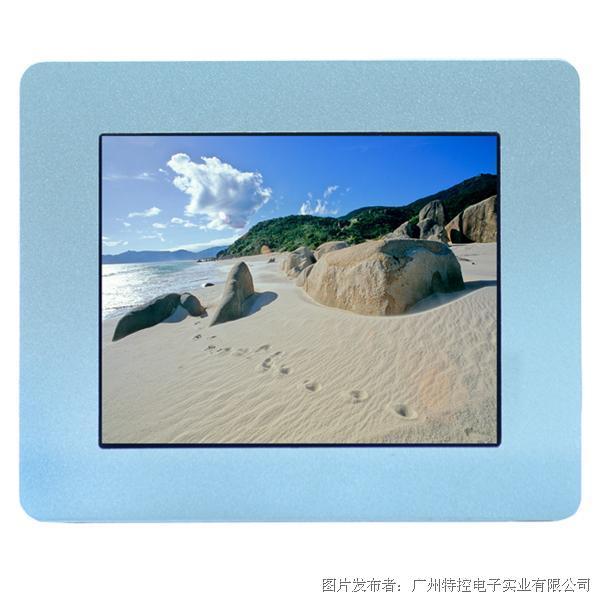 广州特控8寸10点触控电容屏工业显示器
