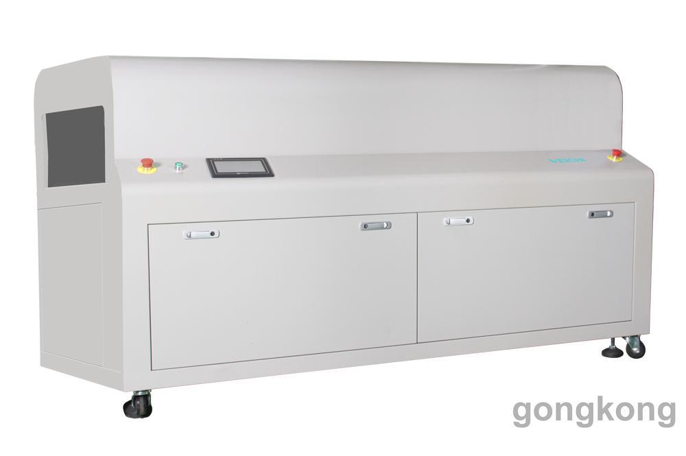 伟创电气三防漆全自动喷胶设备红外线自动烘干机