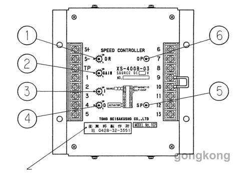三菱s16r调速板执行器