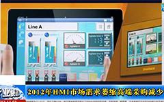 2012年HMI市场需求萎缩,高端采购减少gongkong《行业快讯》2013年第17期(总第82期)