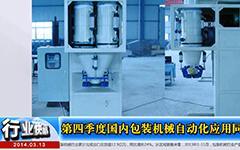 2013年第四季度国内包装机械自动化应用同比增长5.5%--gongkong《行业快讯》2014年第02期(总第85期)