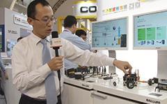 巴鲁夫--2014北京国际工业智能及自动化展览会展台采访