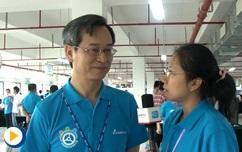 台达杯两岸高校自动化设计大赛---专访台达资深副总裁暨机电事业群总经理张训海先生
