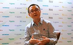深圳市三旺通信技术有限公司 华东区总经理 黄俊 专访---2014中国工业信息化及信息安全发展论坛