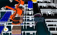 ICONICS 三维监控管理系统 物流与立体库管理
