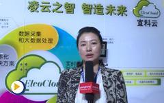 宜科(天津)电子有限公司副总经理李虹女士2015工博会专访