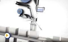 力纳克工业系列 - 贴标机的电动推杆系统应用