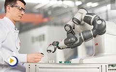 全球首个真正实现人机协作的双臂机器人-Yumi